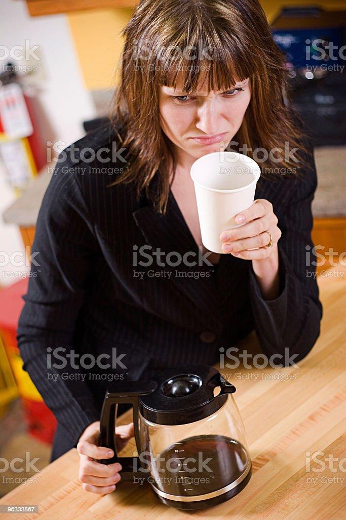 Stale Coffee stock photo