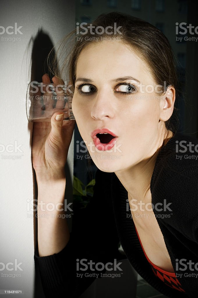 stalker royalty-free stock photo