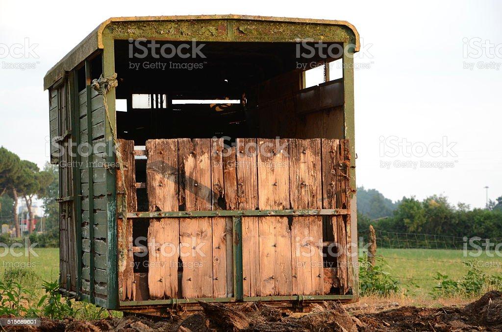 stalla di animali stock photo