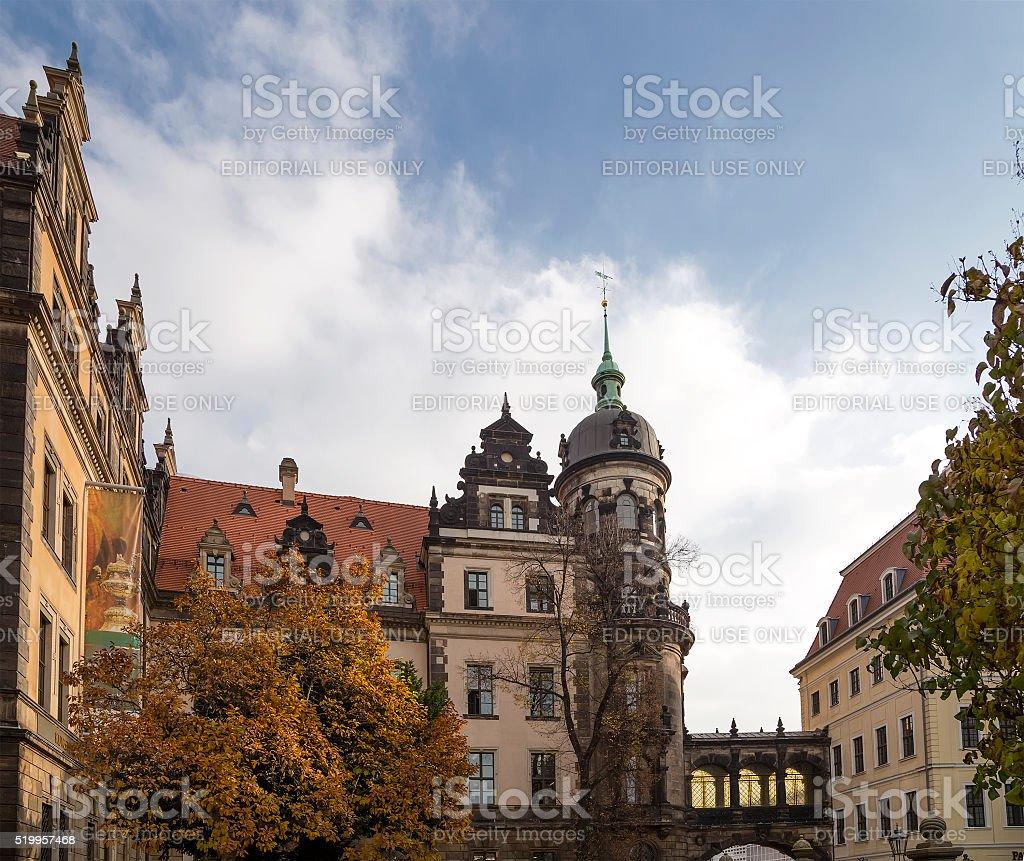 Stallhof in Dresden,Germany stock photo