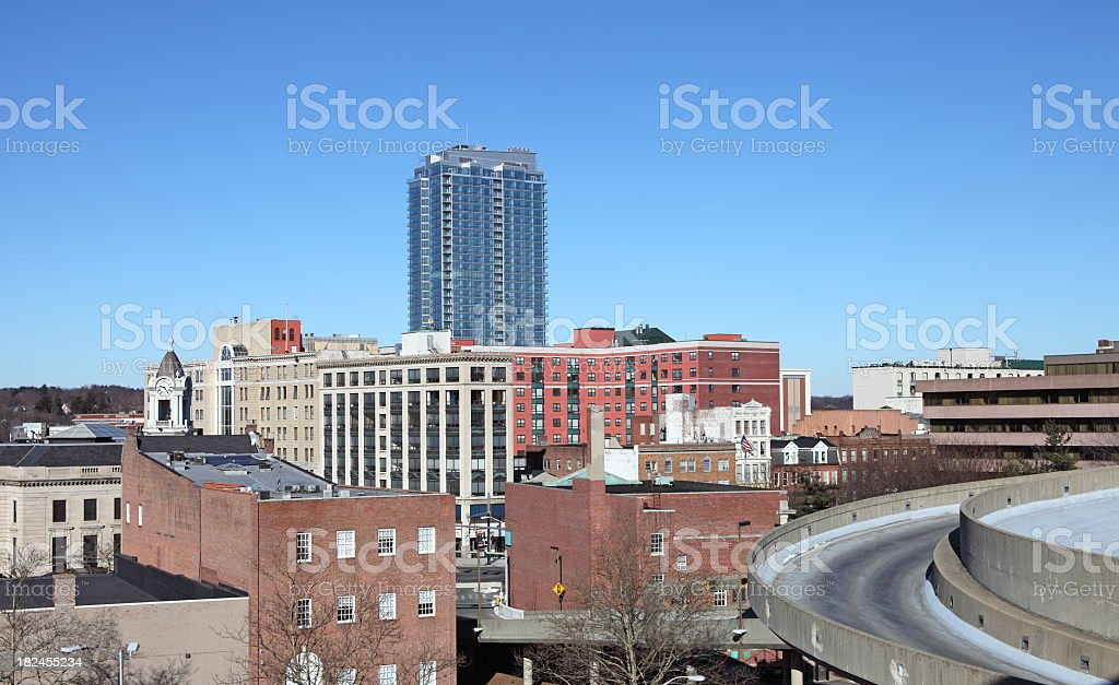Stamford Connecticut stock photo