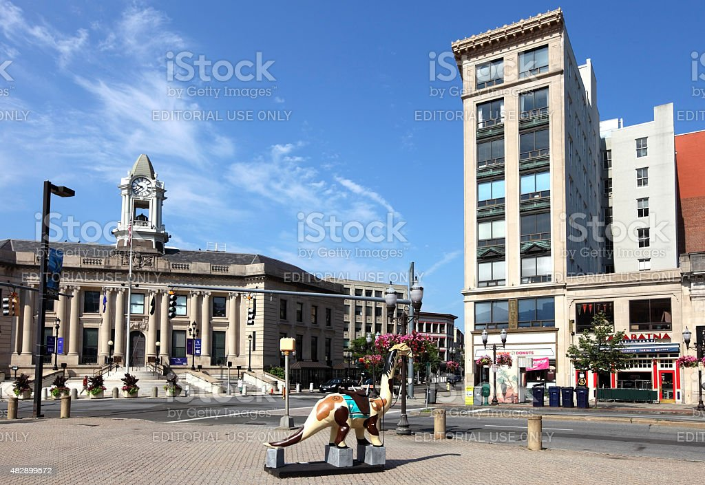 Stamford, Connecticut stock photo