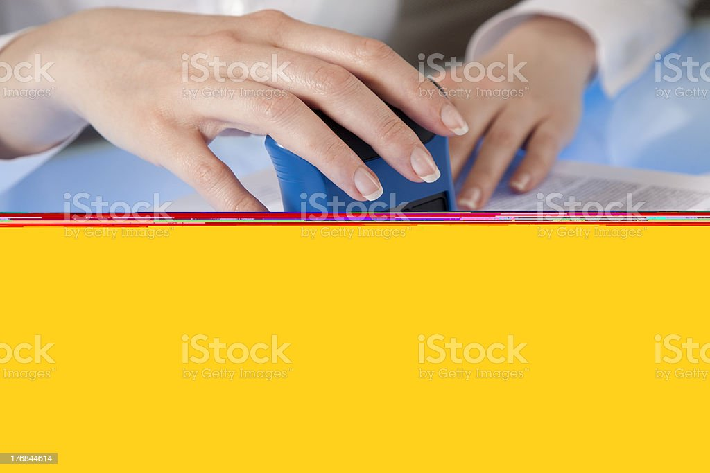 Stamp it stock photo
