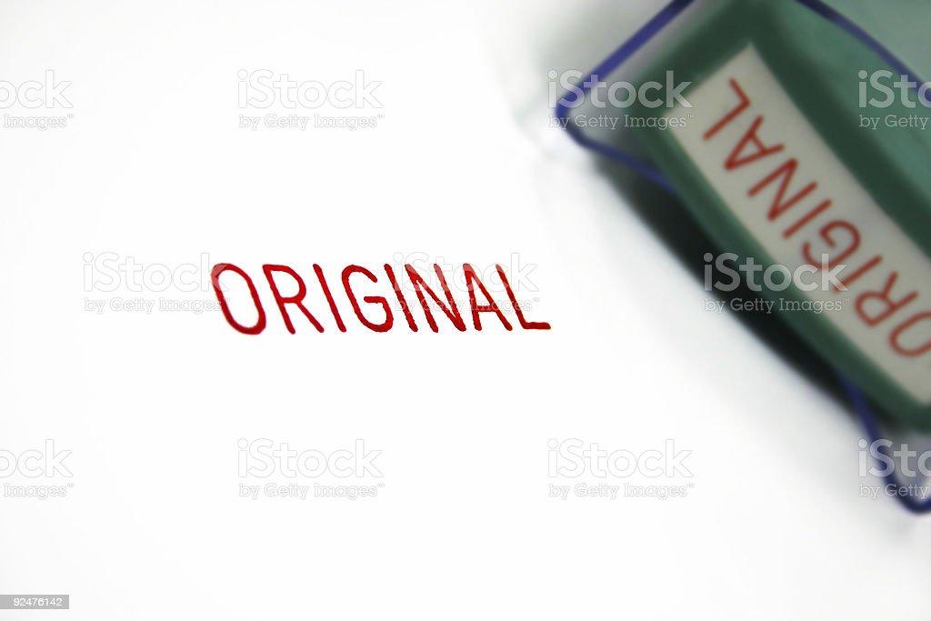 Stamp - Original royalty-free stock photo