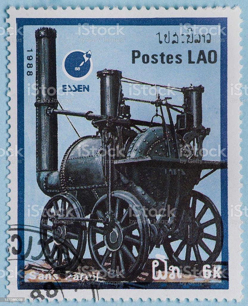 Stamp stock photo