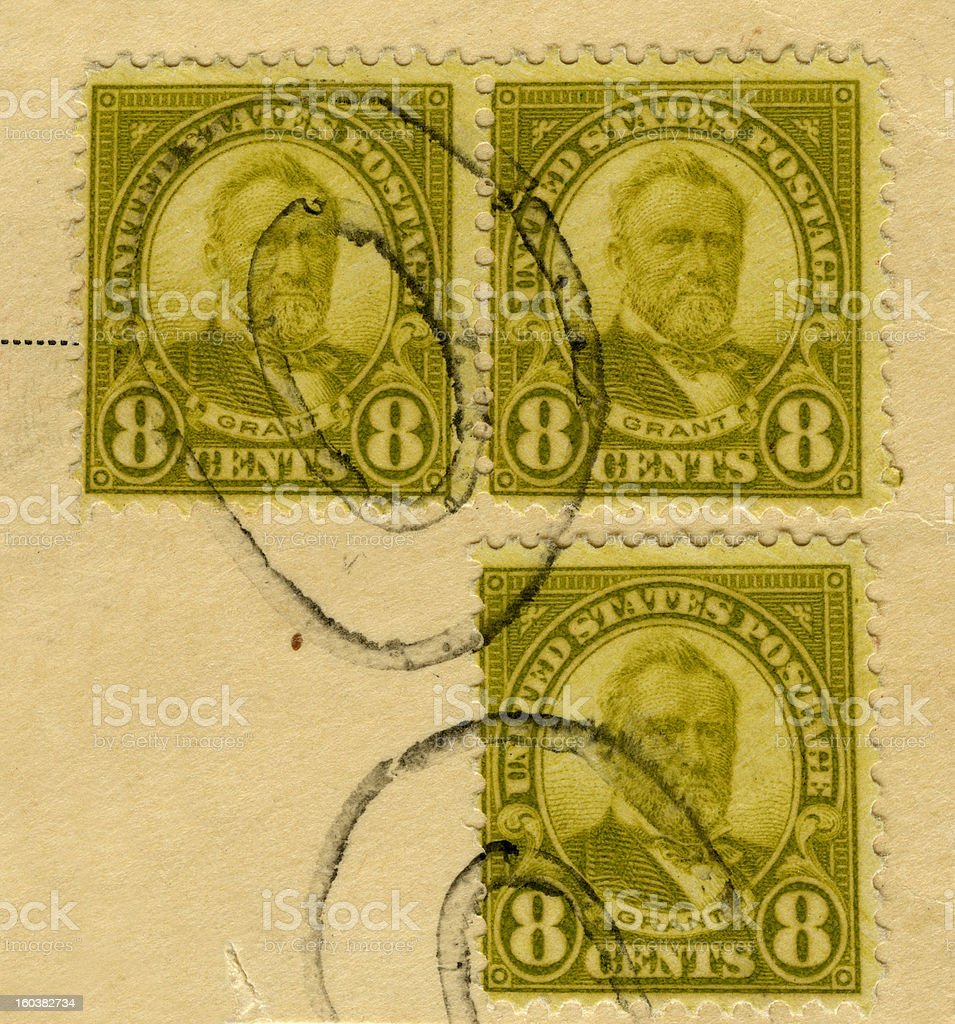 US Stamp royalty-free stock photo