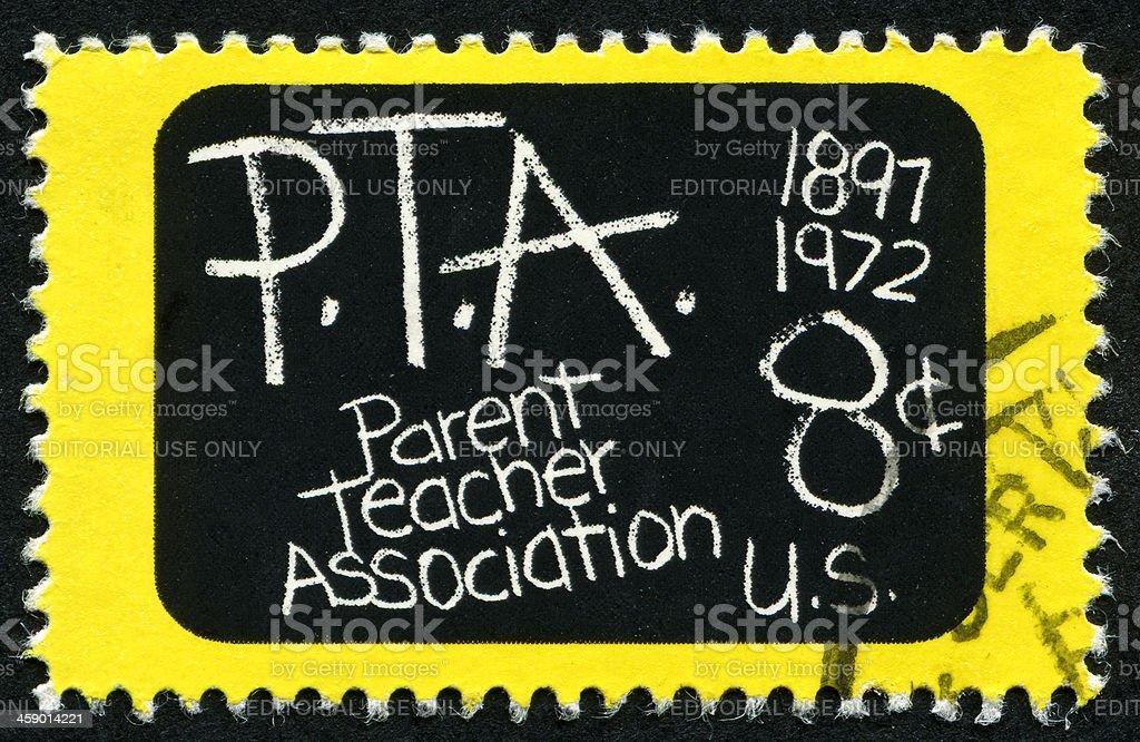 PTA Stamp royalty-free stock photo