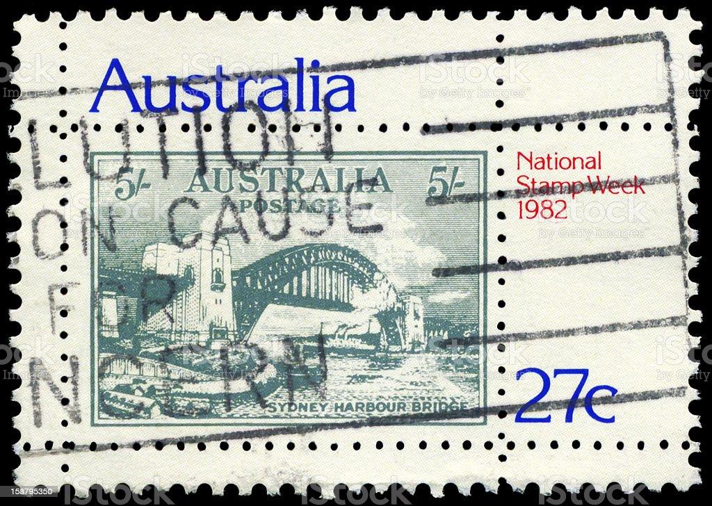 Stamp Week royalty-free stock photo