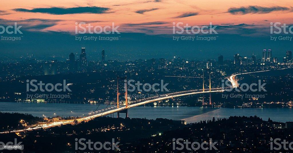 İstanbul Bosphorus Bridge stock photo