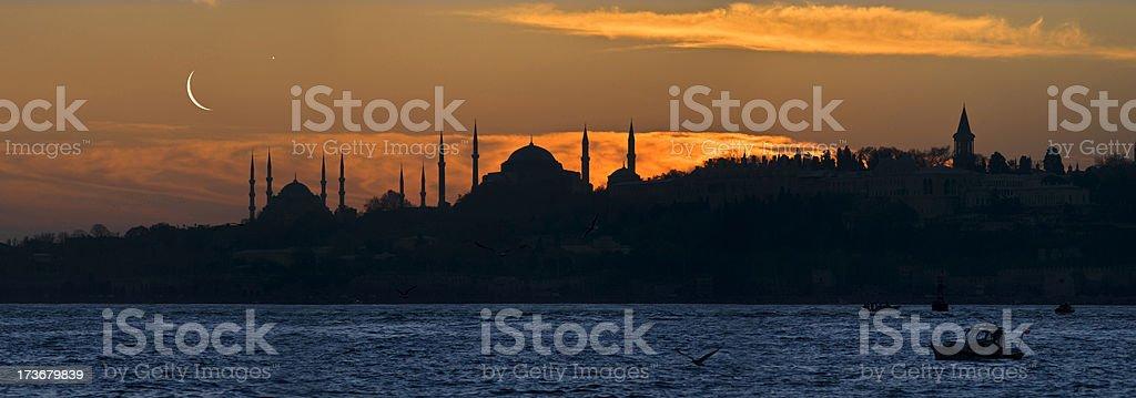 İstanbul Nights royalty-free stock photo
