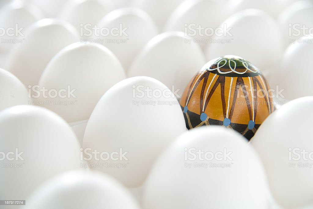Stand apart from the crowd. royalty-free stock photo