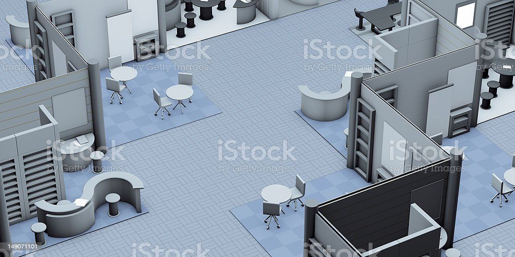 stand fair royalty-free stock photo