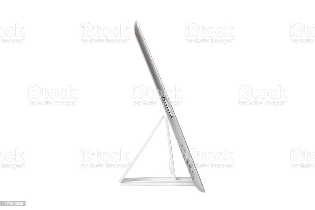Stand for Tablet PC royalty-free stock photo