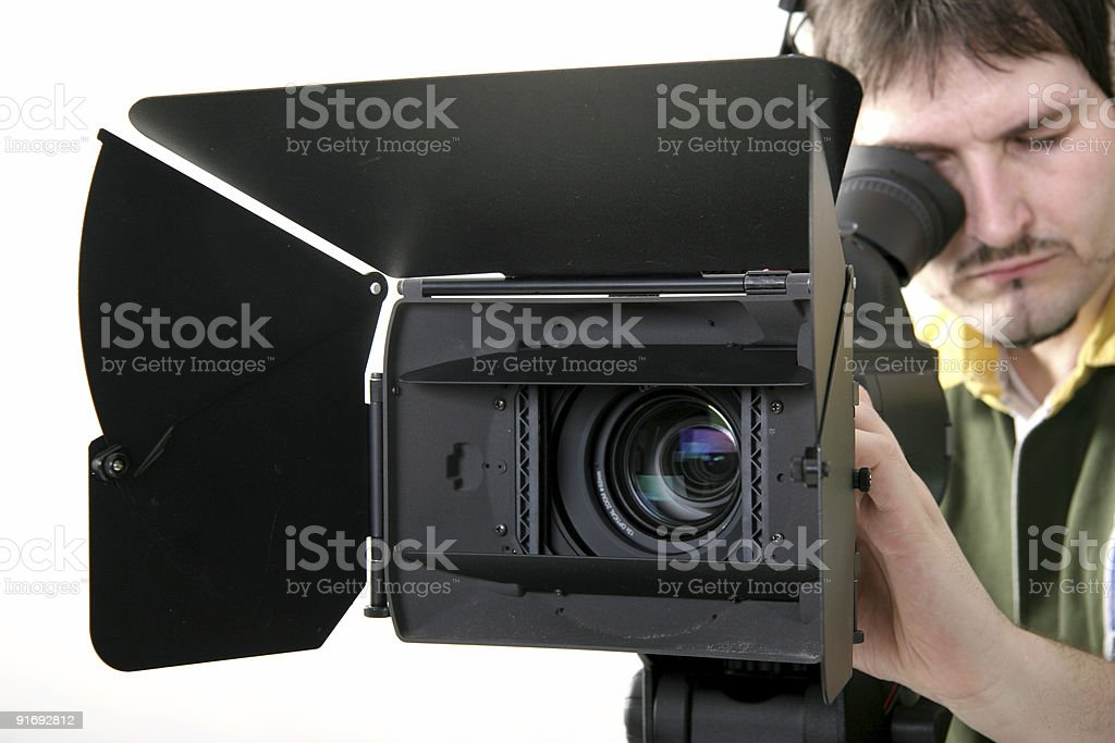 stand HD-camcorder royalty-free stock photo