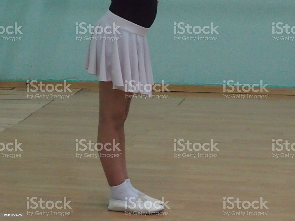 Stand in sporting dances stock photo