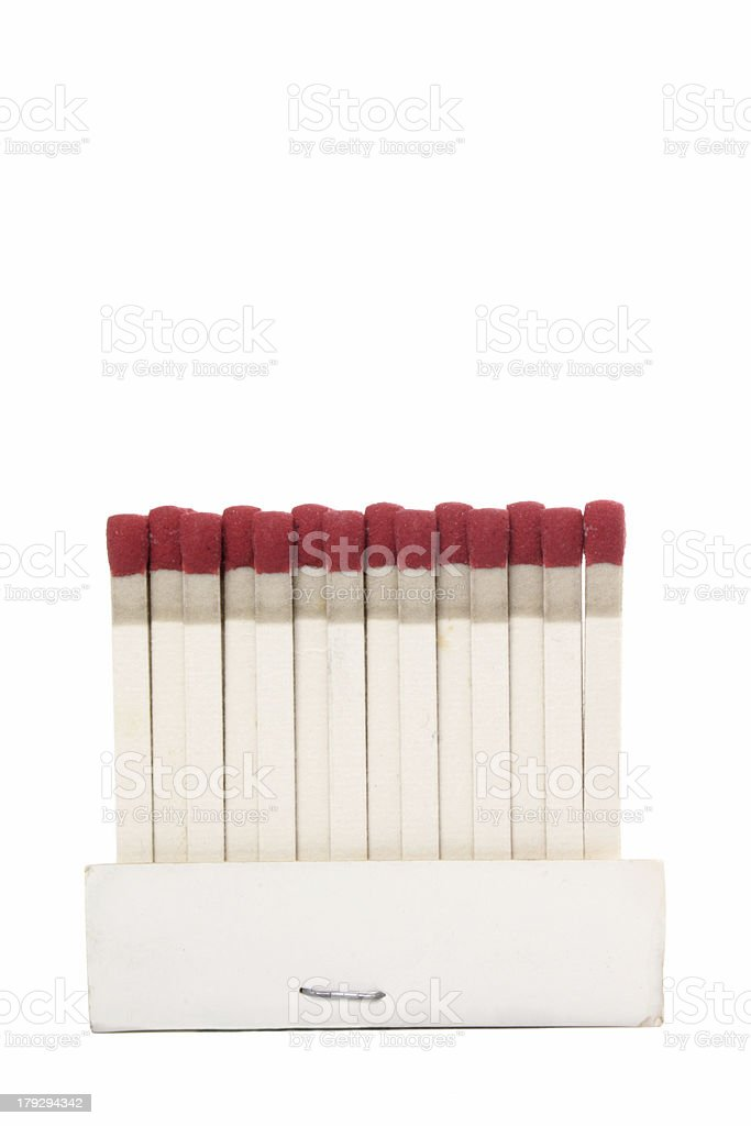 Stand Matchbook stock photo