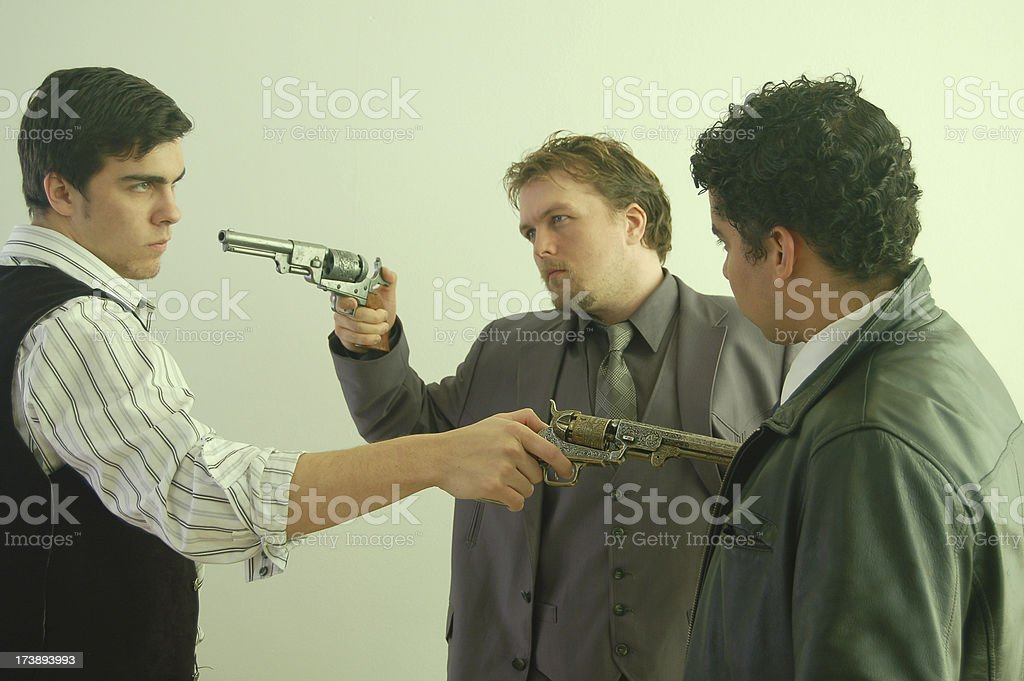 Stand Off stock photo