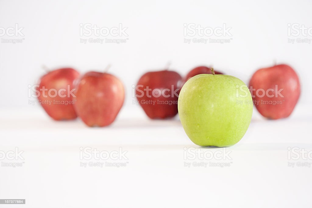Stand out from the crowd series (XXL) royalty-free stock photo