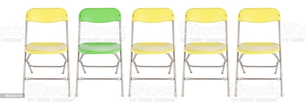 Stand out stock photo