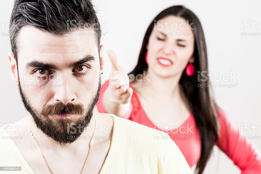 stand up against mental aggression stock photo