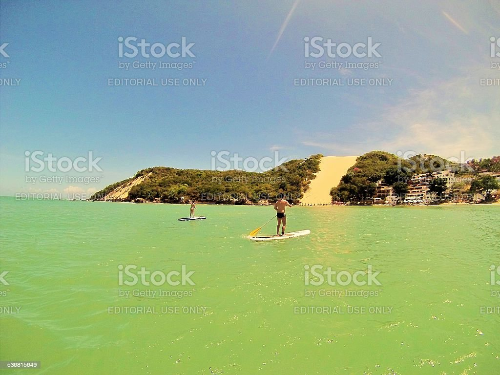 Stand Up Paddle stock photo