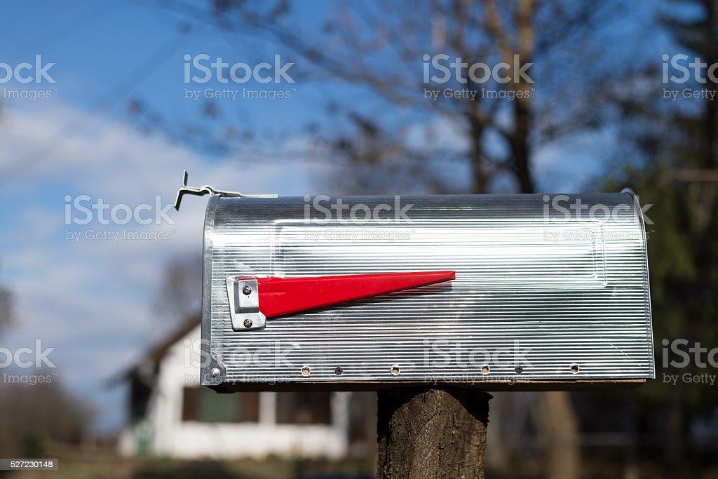Standard American post box stock photo