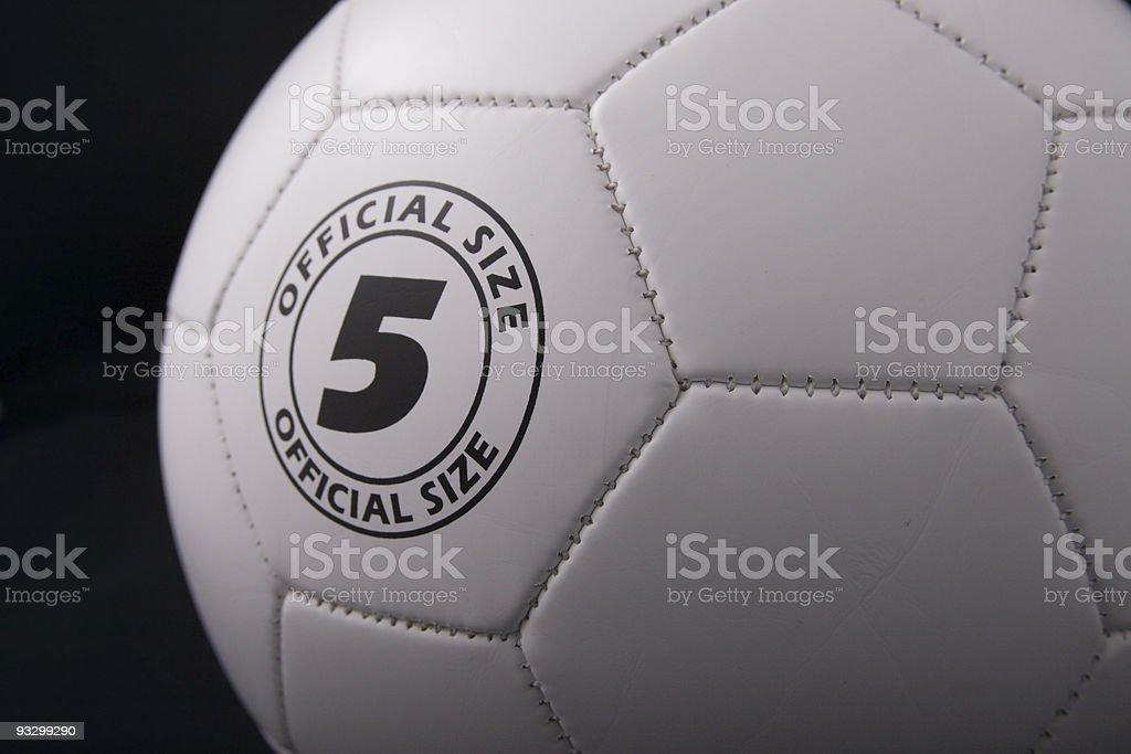Standard sized football royalty-free stock photo