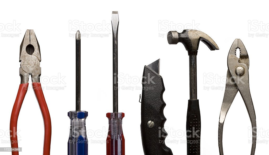 Standard Tools royalty-free stock photo