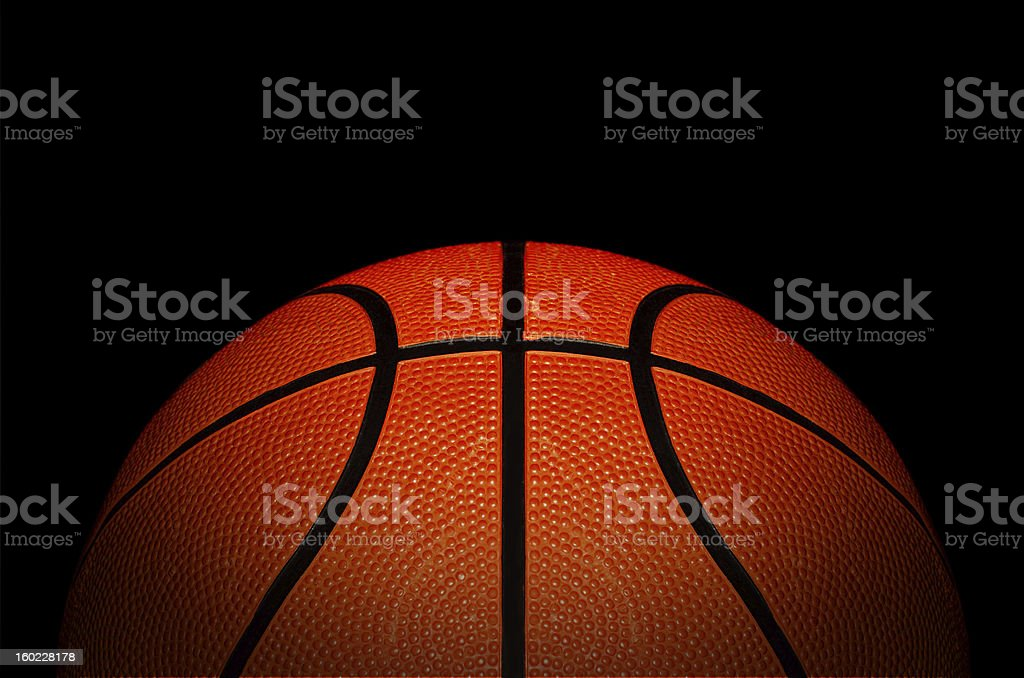 Standard tournament basket ball stock photo