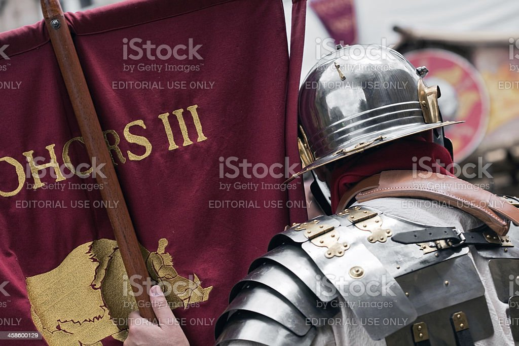 standard-bearer stock photo