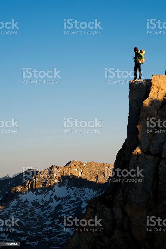 standing above all stock photo