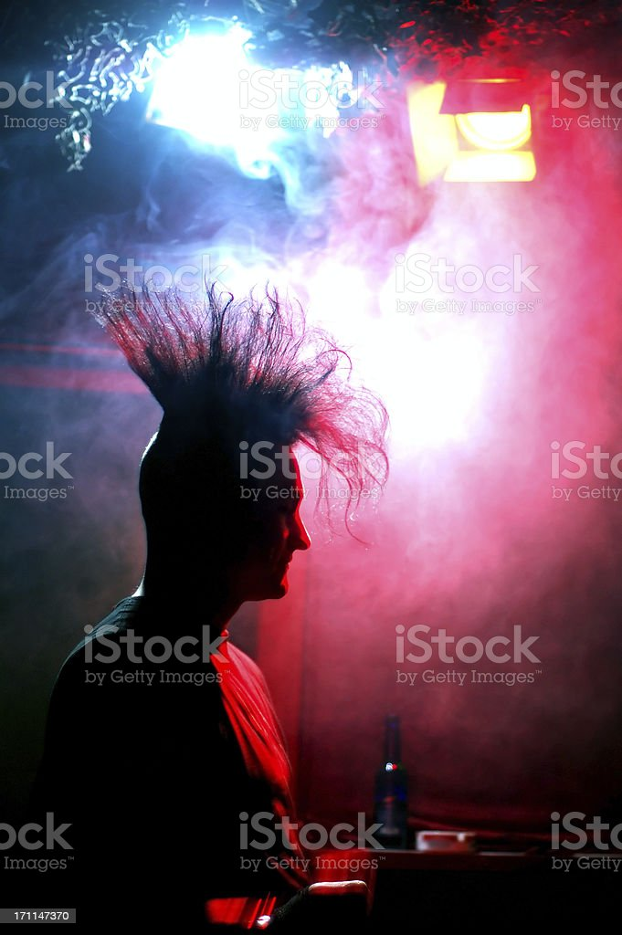 standing at the bar royalty-free stock photo