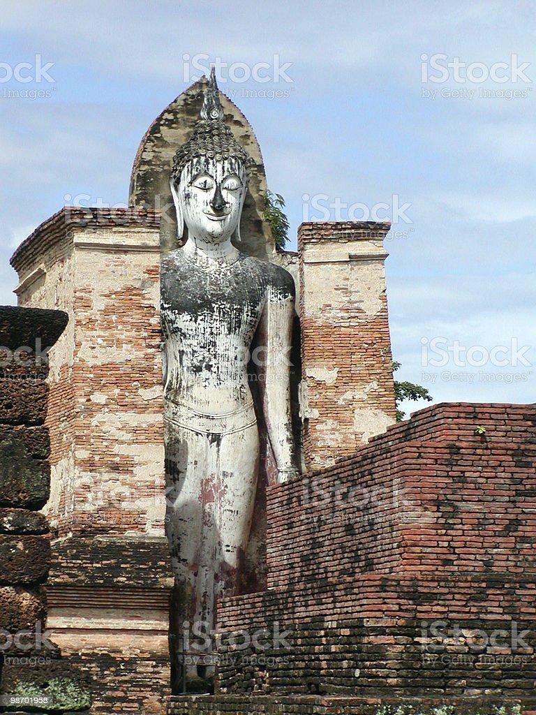 Standing Buddha royalty-free stock photo