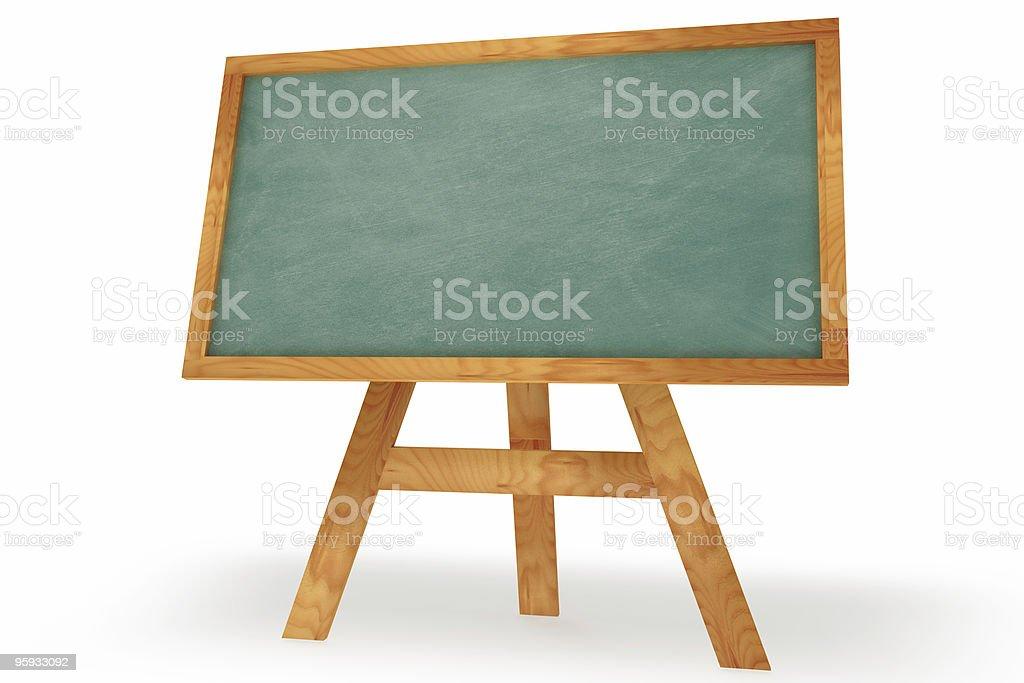Standing Chalkboard royalty-free stock photo