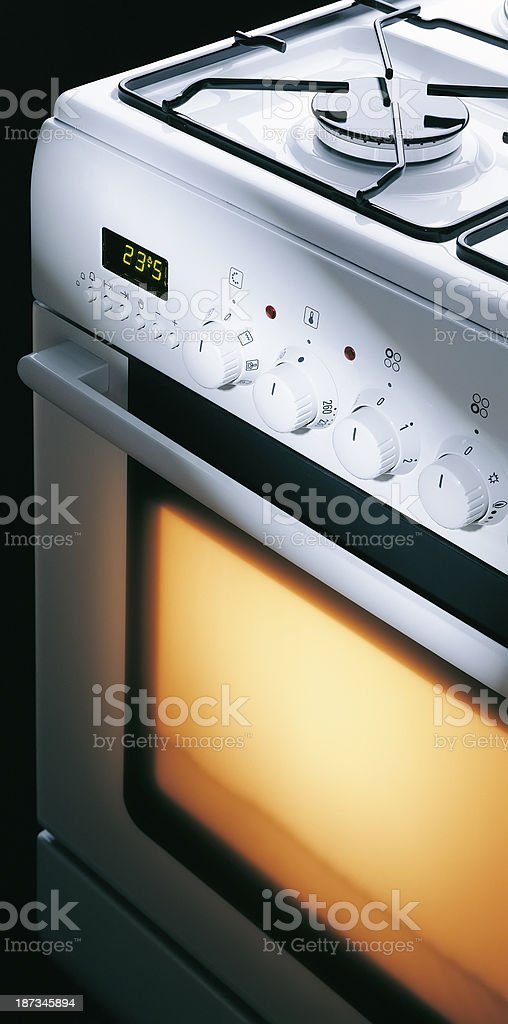 Standing Cooker stock photo