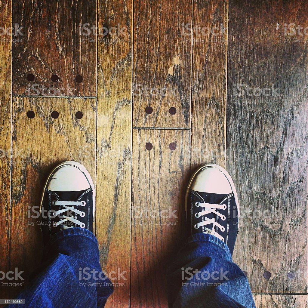 Standing Legs stock photo