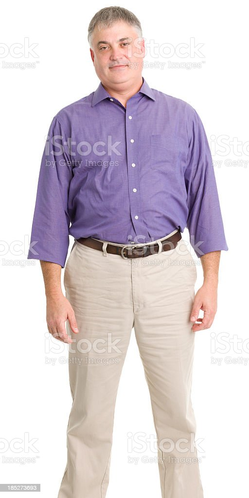 Standing Man royalty-free stock photo
