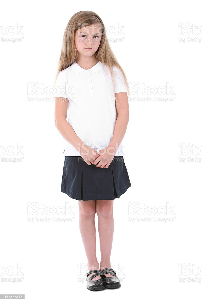 Standing royalty-free stock photo