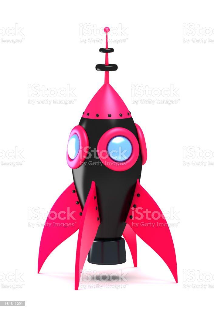 Standing spaceship royalty-free stock photo