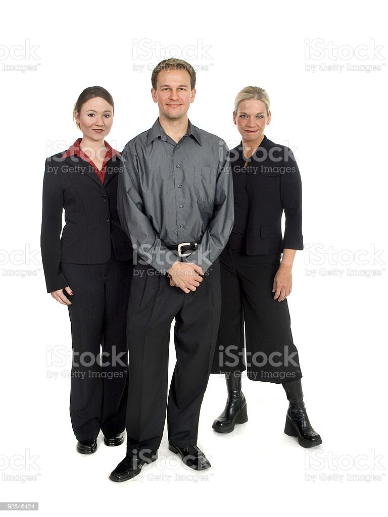Standing Team royalty-free stock photo