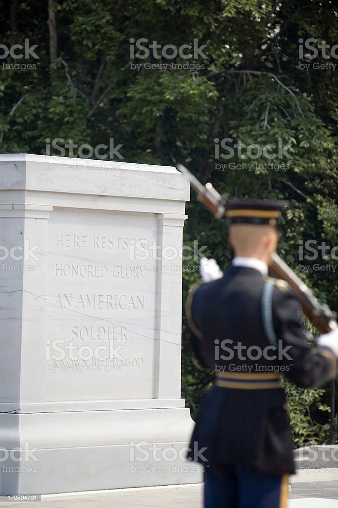 Standing Watch royalty-free stock photo