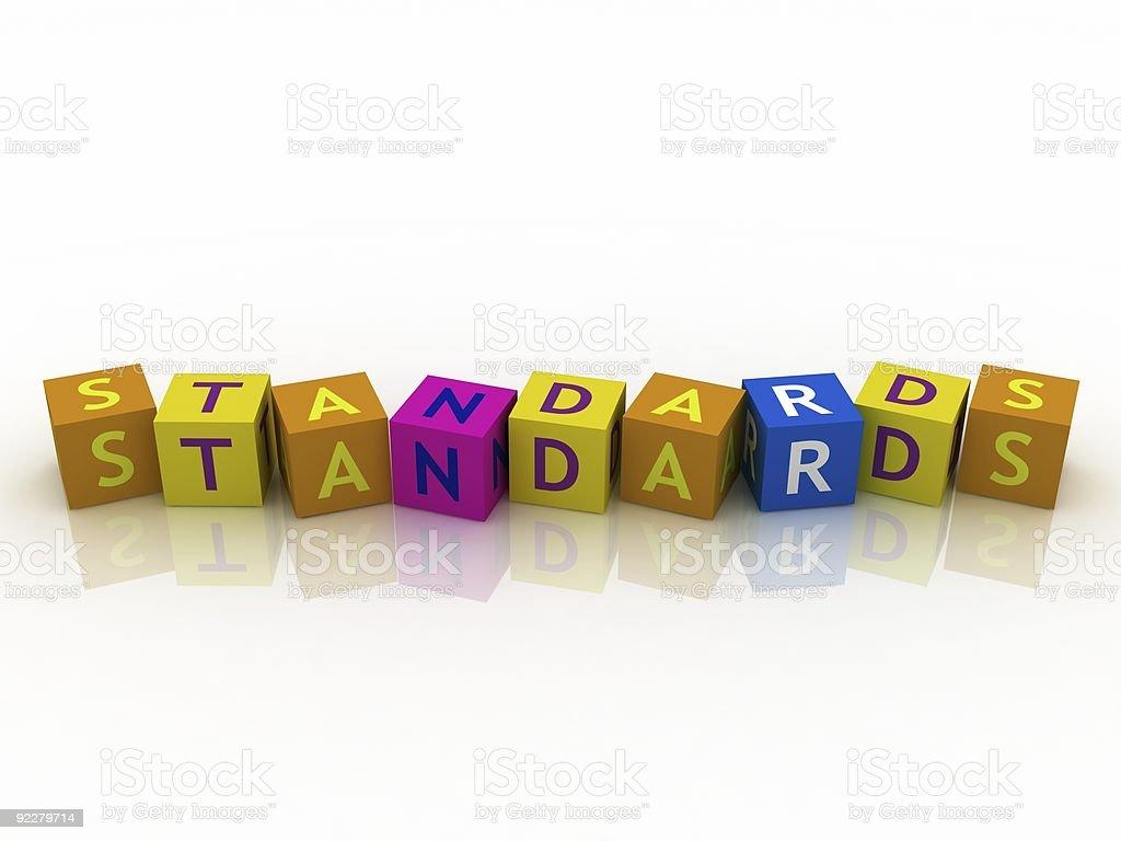 Standrads Crossword royalty-free stock photo
