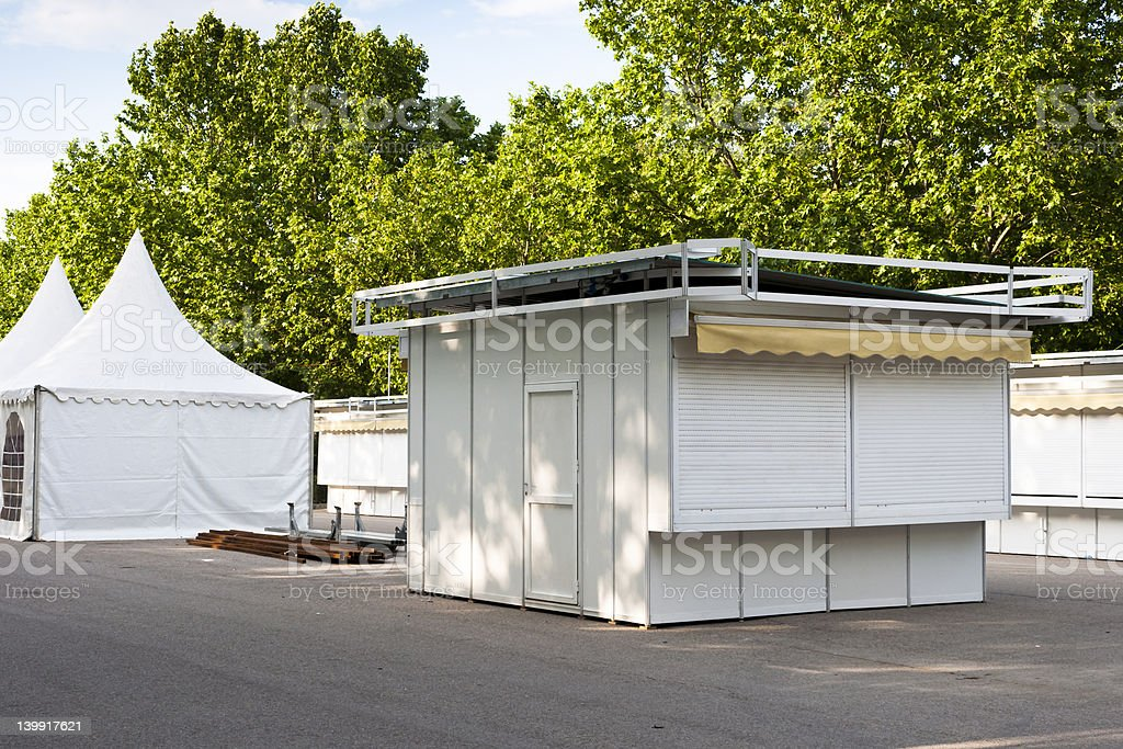 Stands royalty-free stock photo
