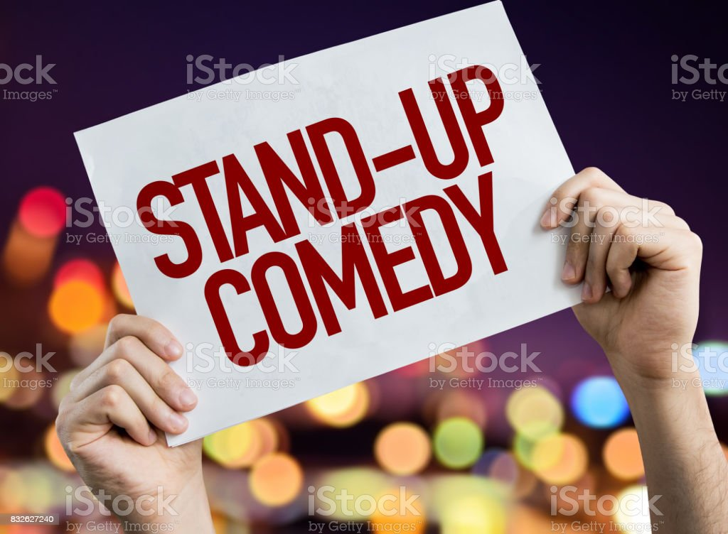 Stand-up Comedy stock photo