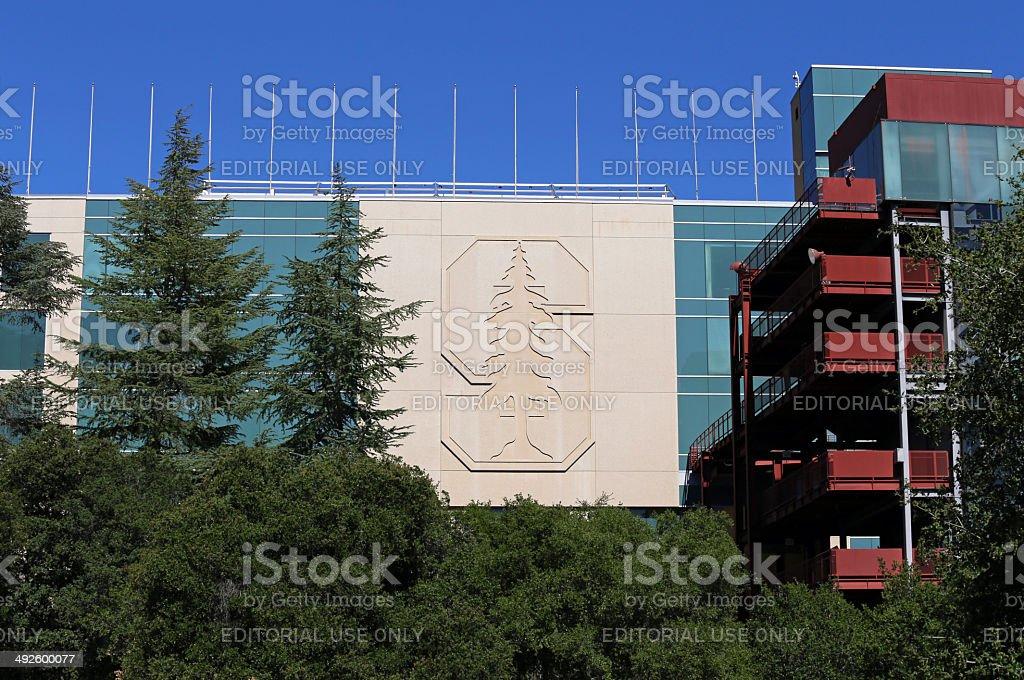 Stanford Stadium stock photo