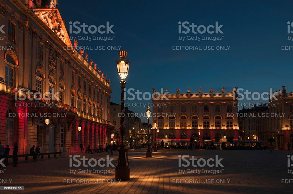 Place Stanislas stock photo