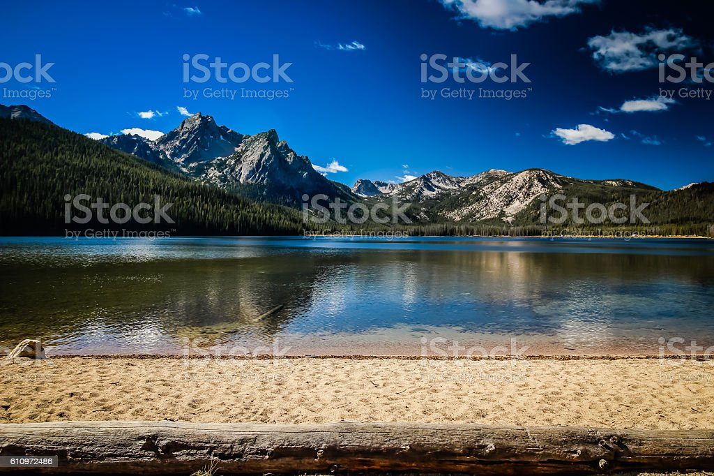 Stanley Lake stock photo