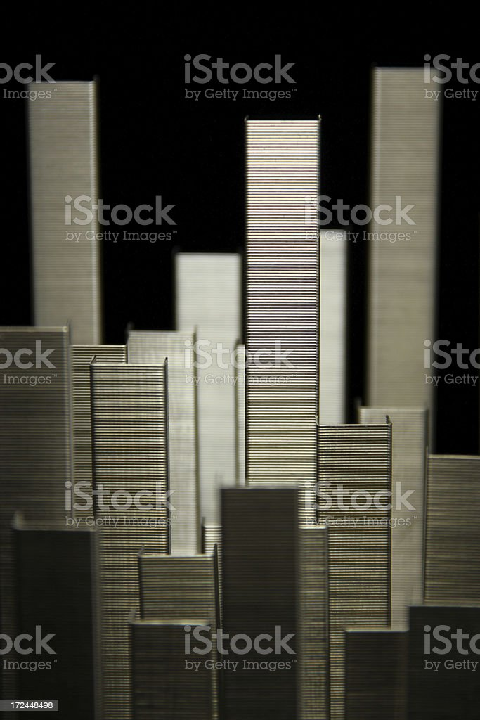 Staple Forest royalty-free stock photo