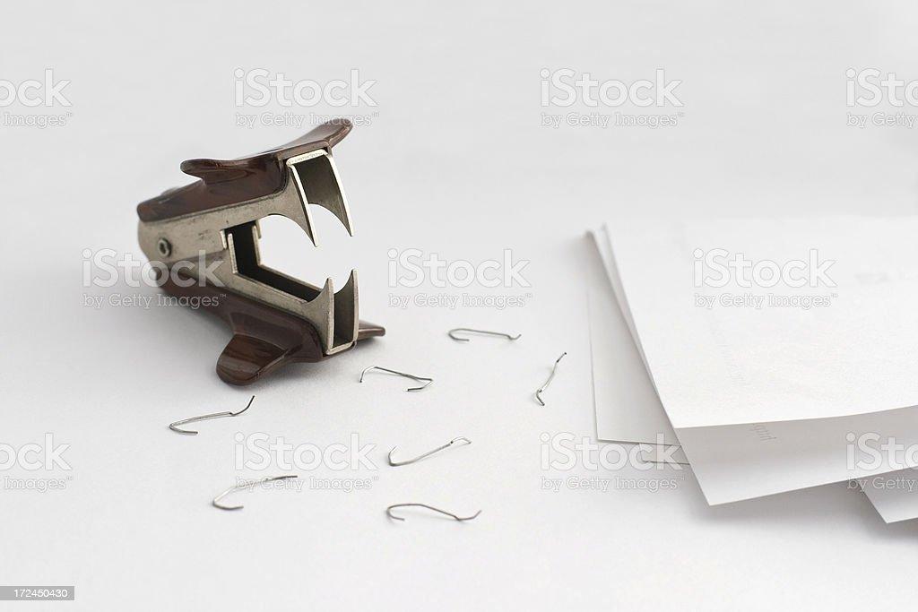Staple Remover royalty-free stock photo