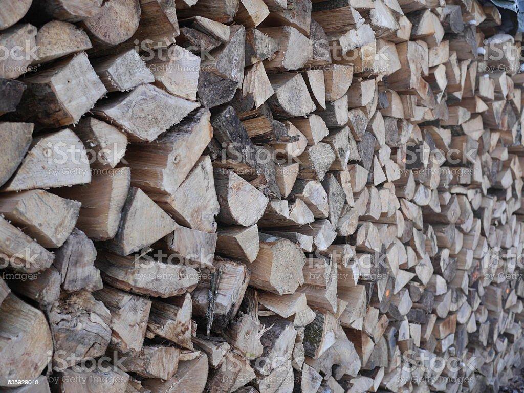stapled wood stock photo